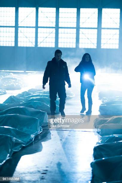 """Pilot"""" - After 47 refugees mysteriously wash up in a small fishing town, local sheriff Jude Ellis teams with DHS agent Emma Ren to assess their..."""