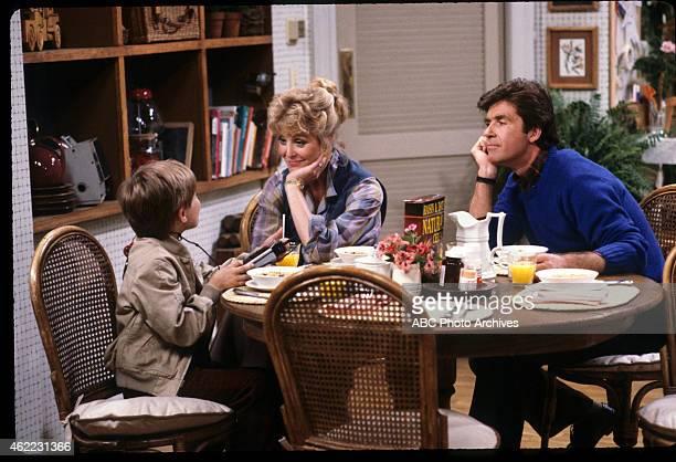 Pilot - Airdate: September 22, 1985. L-R: JEREMY MILLER;JOANNA KERNS;ALAN THICKE