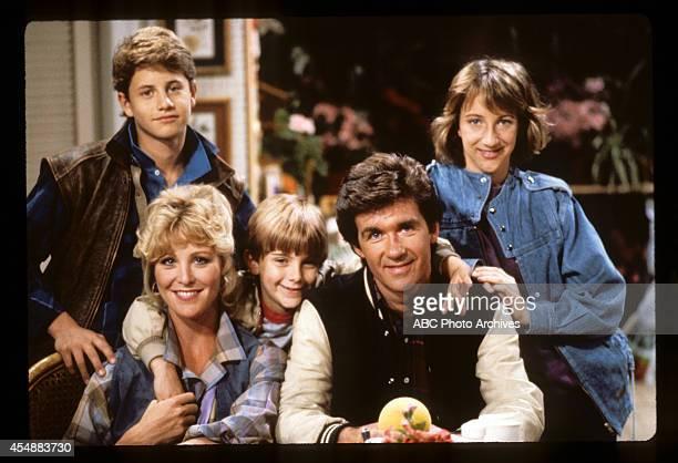 Pilot - Airdate: September 24, 1985. KIRK CAMERON;JOANNA KERNS;JEREMY MILLER;ALAN THICKE;ELIZABETH WARD