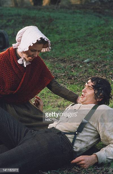 PRAIRIE Pilot Aired Pictured Karen Grassle as Caroline Quiner Holbrook Ingalls Michael Landon as Charles Philip Ingalls Photo by NBCU Photo Bank