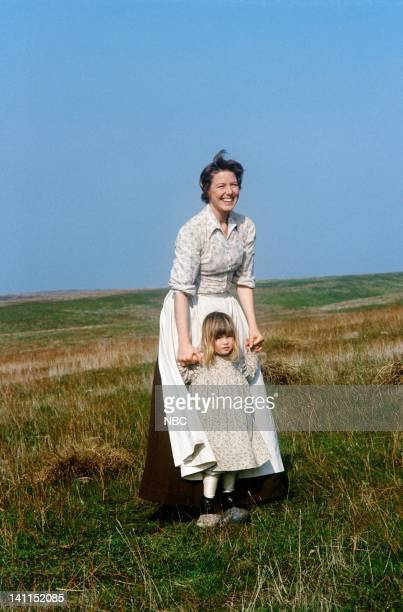 PRAIRIE Pilot Aired Pictured Karen Grassle as Caroline Quiner Holbrook Ingalls Lindsay or Sydney Greenbush as Carrie Ingalls Photo by NBCU Photo Bank