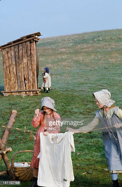 PRAIRIE Pilot Aired Pictured Melissa Gilbert as Laura Elizabeth Ingalls Wilder Melisssa Sue Anderson as Mary Ingalls Kendall Photo by NBCU Photo Bank