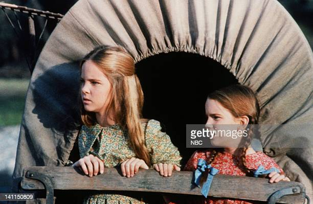 PRAIRIE 'Pilot' Aired Pictured Melisssa Sue Anderson as Mary Ingalls Kendall Melissa Gilbert as Laura Elizabeth Ingalls Wilder Photo by NBCU Photo...