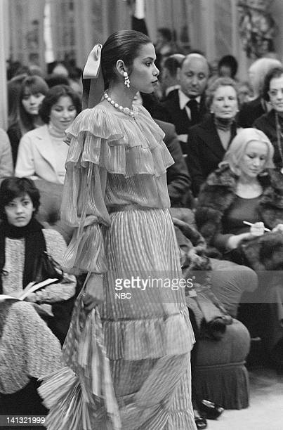 NOW 'Pilot' Aired Pictured Models wearing the new fall collection of fashion designer Yves St Laurent Photo by NBCU Photo Bank
