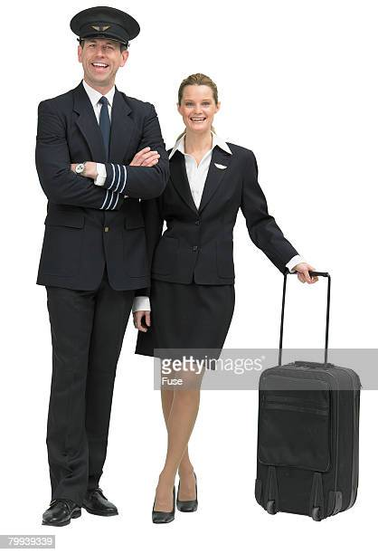 Pilot and Flight Attendant