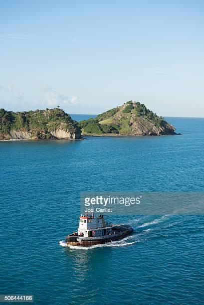 Pilot boat in St. John's, Antigua