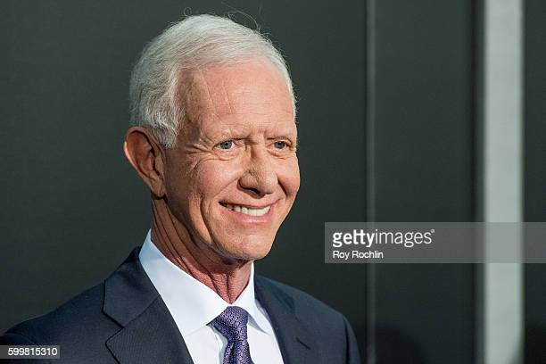 """Pilot Chesley """"Sully"""" Sullenberger attends the """"Sully"""" New York premiere at Alice Tully Hall, Lincoln Center on September 6, 2016 in New York City."""