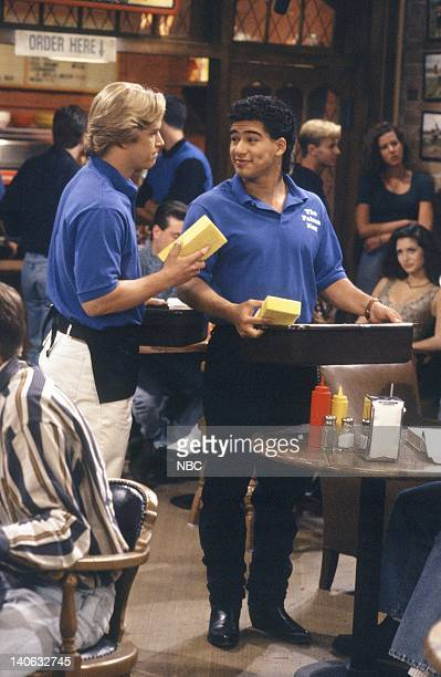YEARS 'Pilot' Episode 1 AIr Date Pictured MarkPaul Gosselaar as Zack Morris Mario Lopez as AC Slater Photo by Paul Drinkwater/NBCU Photo Bank