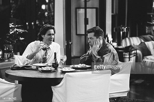 WILL GRACE 'Pilot' Episode 1 Air Date Pictured Eric McCormack as Will Truman Sean Hayes as Jack McFarland Photo by Alice S Hall/NBCU Photo Bank
