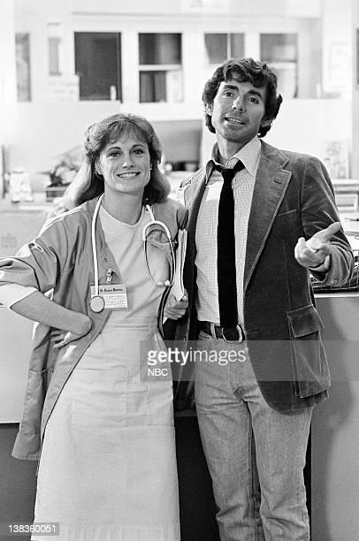 "Pilot"" Episode 1 -- Pictured: Sagan Lewis as Doctor Jacqueline Wade, David Birney as Doctor Ben Samuels"