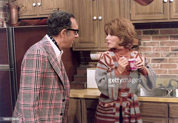 "Pilot"" Episode 101 -- Pictured: Joe Silver as Jack Stewart, Lee Grant as Fay Stewart --"