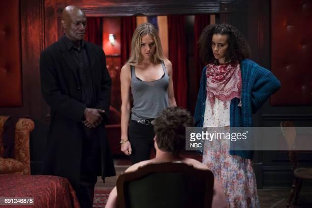 TEXAS 'Pilot' Episode 101 Pictured Peter Mensah as Lemuel Arielle Kebbel as Olivia Parisa FitzHenley as Fiji Cavanaugh