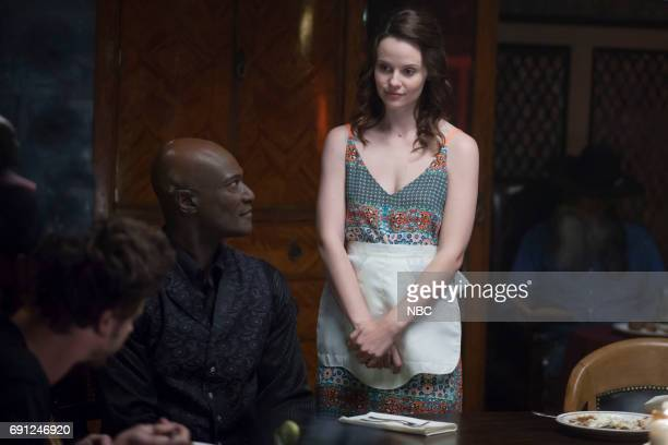 TEXAS 'Pilot' Episode 101 Pictured Peter Mensah as Lemuel Sarah Ramos as Creek