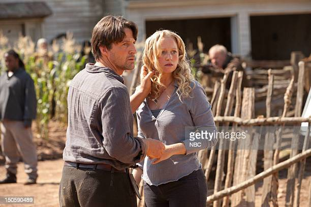 REVOLUTION 'Pilot' Episode 101 Pictured Tim Guinee as Ben Anna Lise Phillips as Maggie