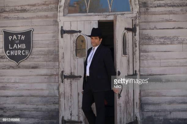 TEXAS 'Pilot' Episode 101 Pictured Yul Vasquez as Rev Sheehan