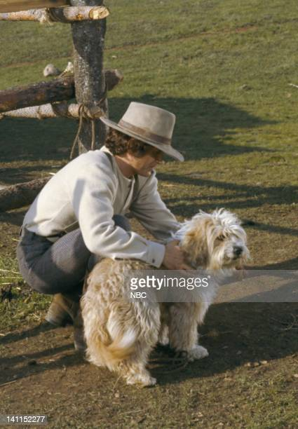 PRAIRIE Pilot Episode Air Date Pictured Michael Landon as Charles Philip Ingalls Jack the Dog Photo by NBCU Photo Bank