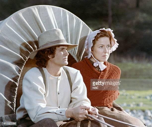 Pilot Episode -- Air Date -- Pictured: Michael Landon as Charles Philip Ingalls, Karen Grassle as Caroline Quiner Holbrook Ingalls -- Photo by: NBCU...