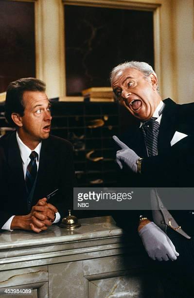 HOUSE 'Pilot' Episode Pictured Gregory Itzin as Dennis Harvey Korman as Reginald Tarkington