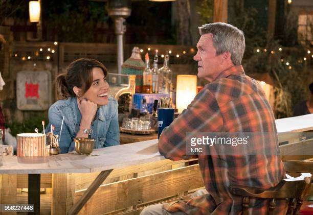 S 'Pilot' Episode Pictured Natalie Morales as Abby Neil Flynn as Fred
