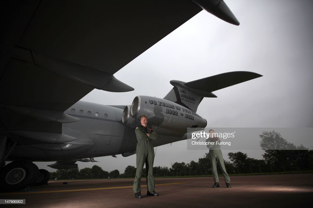 Preparations Are Made Ahead Of The International Air Tattoo At Fairford