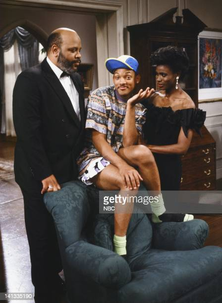 James Avery as Philip Banks Will Smith as William 'Will' Smith Janet Hubert as Vivian Banks Photo by Chris Haston/NBCU Photo Bank
