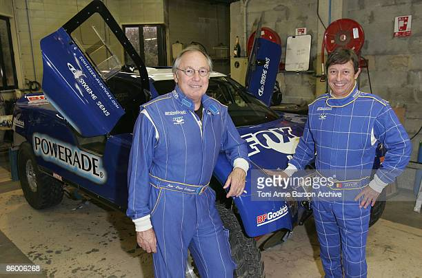 COVERAGE*** Pilot JeanLouis Schlesser and CoPilot JeanPaul Forthomme present Their Buggy ahead of their departure next monday April 20th for Rally of...
