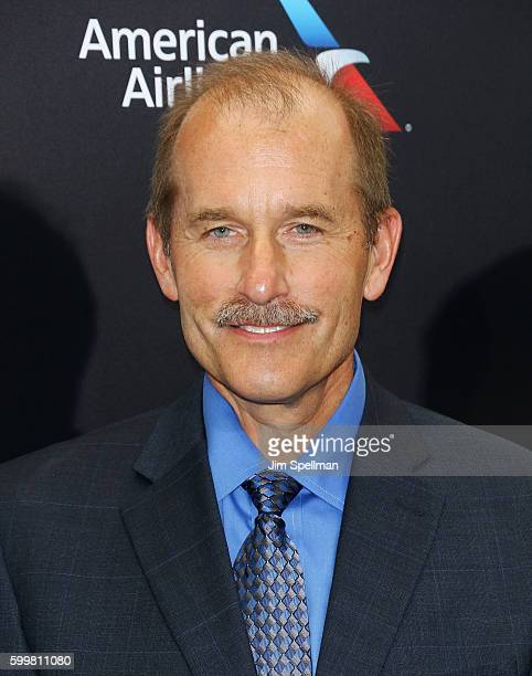 Pilot Jeff Skiles attends the Sully New York premiere at Alice Tully Hall Lincoln Center on September 6 2016 in New York City