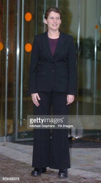 BA Pilot Jessica Starmer outside an employment tribunal in Watford where the tribunal heard that she will be forced to resign if the airline doesn't...