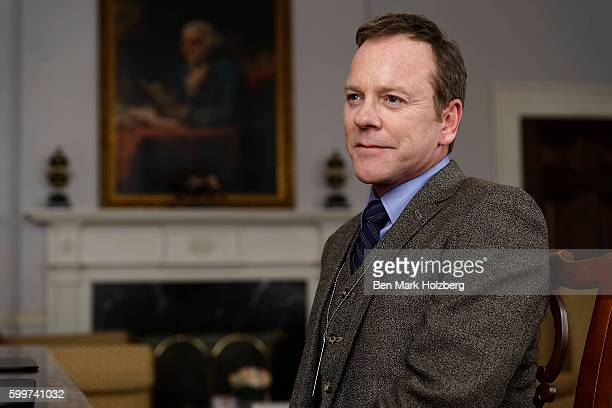 SURVIVOR 'Pilot' Kiefer Sutherland stars as Tom Kirkman a lowerlevel cabinet member who is suddenly appointed President of the United States after a...