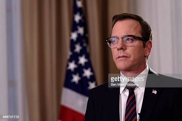 """Pilot"""" - Kiefer Sutherland stars as Tom Kirkman, a lower-level cabinet member who is suddenly appointed President of the United States after a..."""