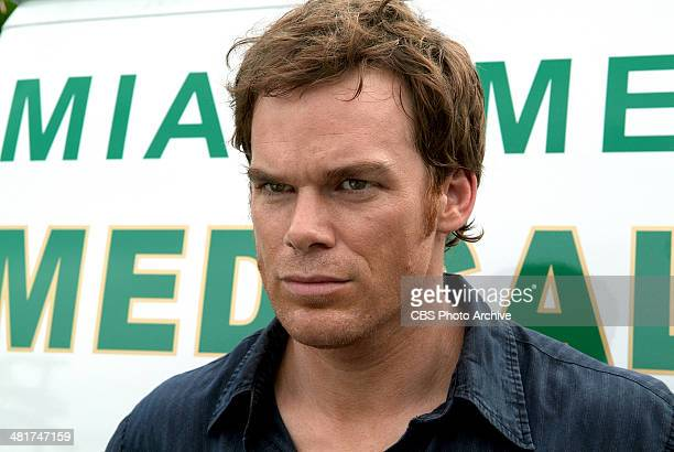 'Pilot' Michael C Hall as Dexter Morgan in Dexter Dexter takes part in the investigation of a serial killer who drains his victims of blood