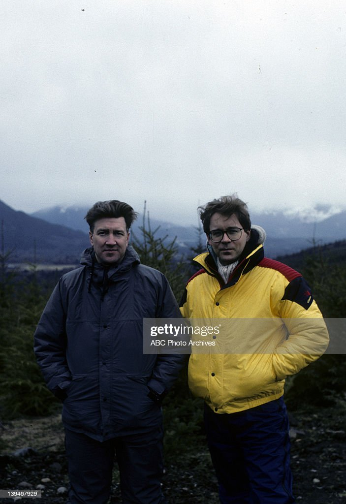 DAVID LYNCH;PRODUCER MARK FROST : News Photo