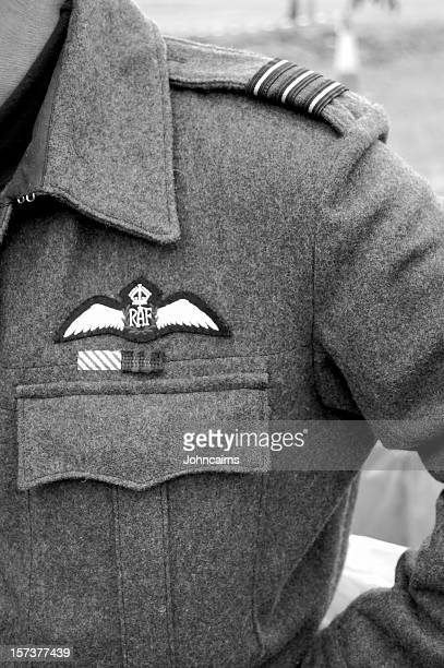 r.a.f pilot. - dunkirk evacuation stock pictures, royalty-free photos & images