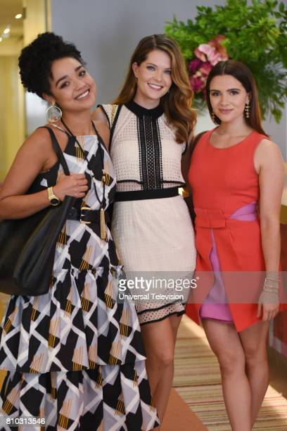 TYPE Pilot Pictured Aisha Dee as Kat Meghann Fahy as Sutton Katie Stevens as Jane