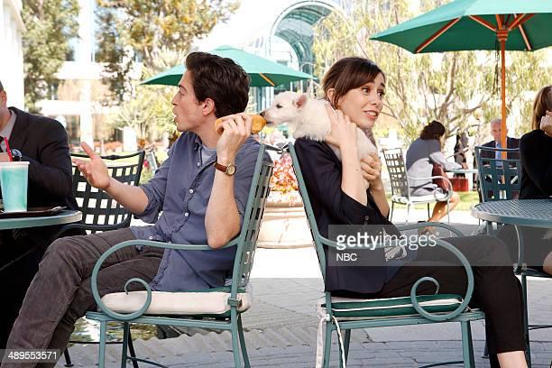 Z 'Pilot' Pictured Ben Feldman as Andrew Lofland Cristin Milioti as Zelda Vasco