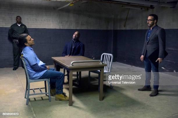 CROWD 'Pilot' Pictured Ramses Jimenez as carlos Ochoa Richard T Jones as Det Tommy Cavanaugh Jeremy Piven as Jeffrey Tanner