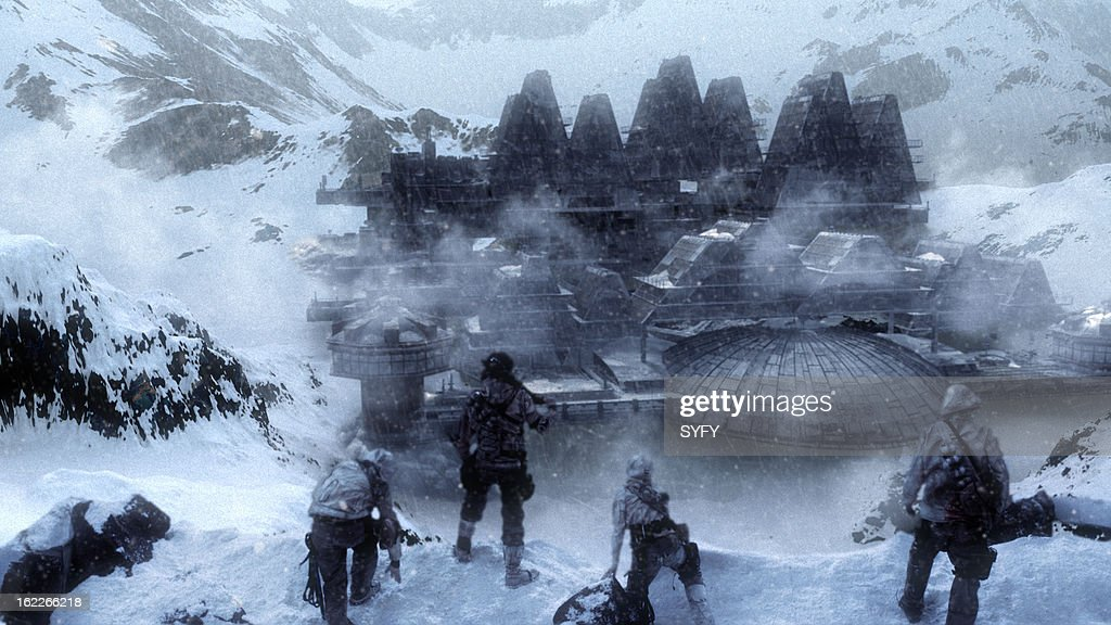 Soldiers in the snow --
