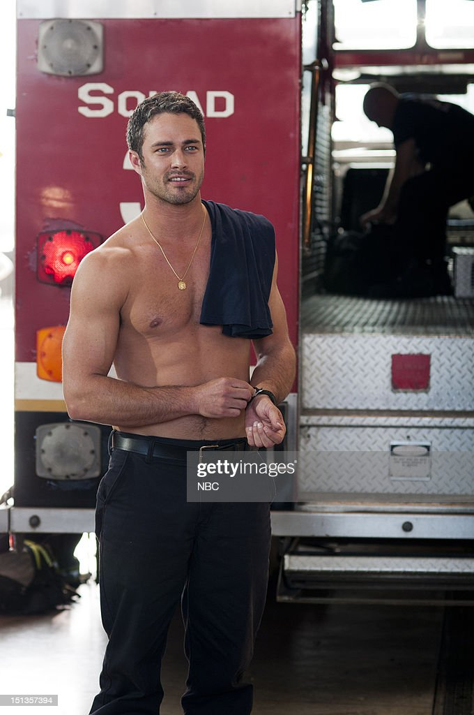 Fire Pilot Pictured Taylor Kinney As Kelly Severide