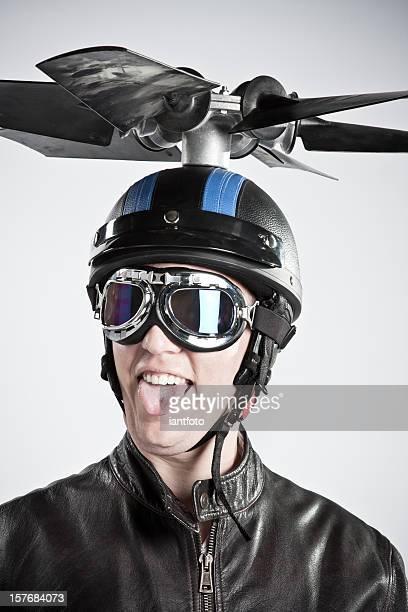 Retrato de piloto.