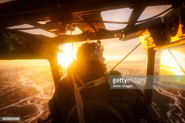 Pilot, Propeller Plane, Iceland