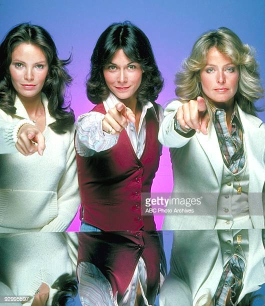 S ANGELS Pilot Season One 9/22/76 Pictured from left Jaclyn Smith Kate Jackson and Farrah FawcettMajors played undercover detectives Kelly Garrett...