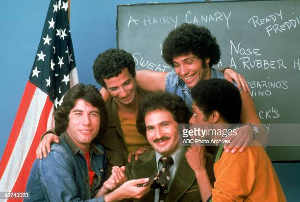 BACK KOTTER pilot Season One 9/9/75 Gabe Kotter a former Sweathog returned to his Brooklyn high school to teach the new class of misfits from left...