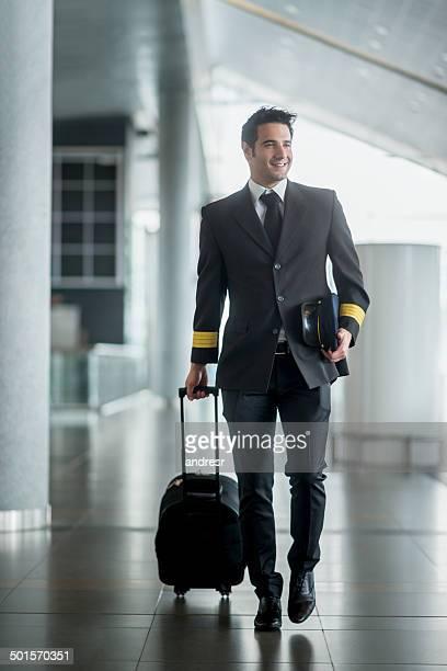 Pilot traveling