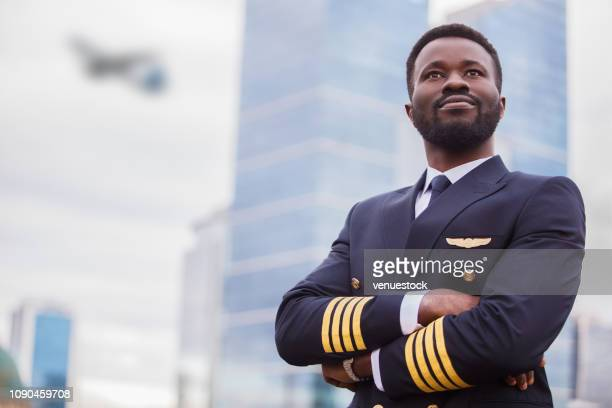 pilot waiting the flight - piloting stock pictures, royalty-free photos & images