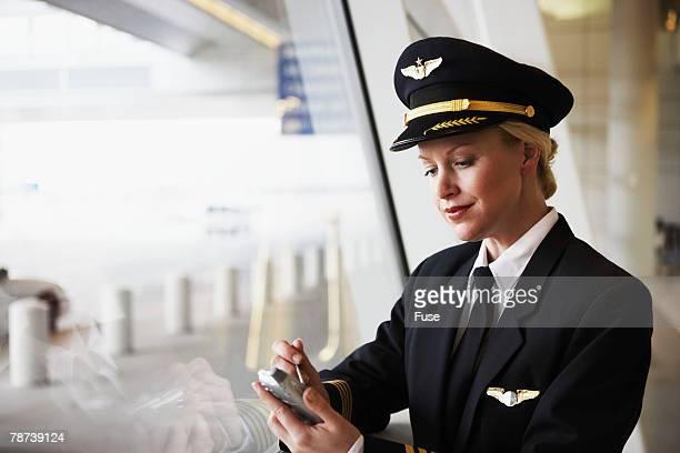 Pilot with PDA