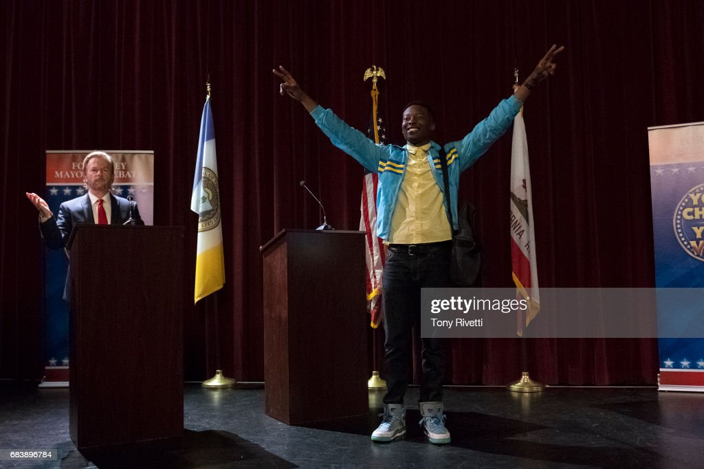 THE MAYOR - 'Pilot' - Young rapper Courtney Rose needs his big break. For years, he's toiled away in a small inner-city apartment, making music in his junk-filled bedroom closet. Tired of waiting for opportunity, Courtney cooks up the publicity stunt of the century: Running for mayor of his hometown in California to generate buzz for his music career. Unfortunately for Courtney, his master plan goes wildly awry, ending in the most terrifying of outcomes: An election victory. With the help of his mother and friends, including Valentina, Courtney will have to overcome his hubris if he wants to transform the struggling city he loves HALL