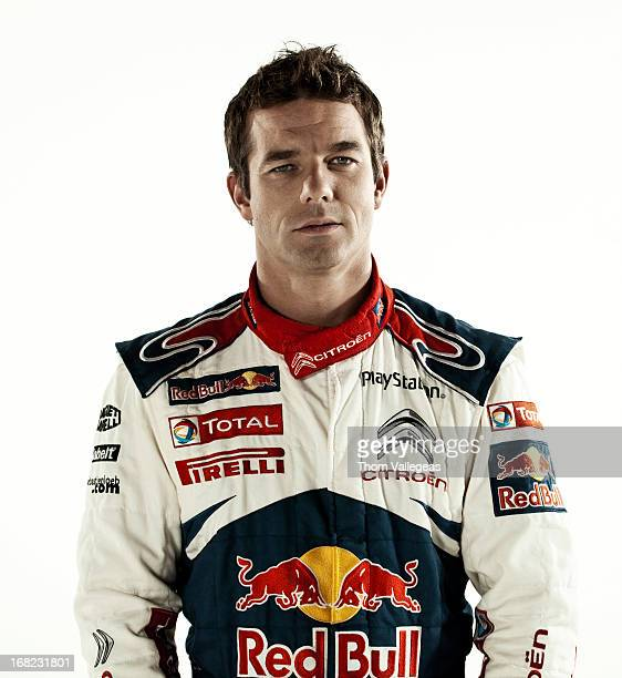 Pilote Sebastien Loeb is photographed for Self Assignment on December 1 2010 in Paris France