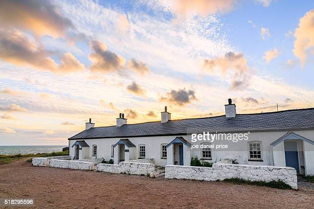 Pilots Cottages, Llanddwyn Island, Newborough, Anglesey, Wales