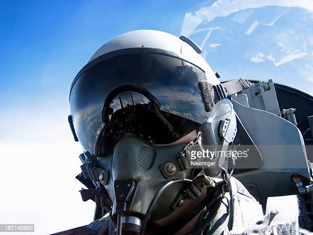 pilot's face - piloting stock pictures, royalty-free photos & images