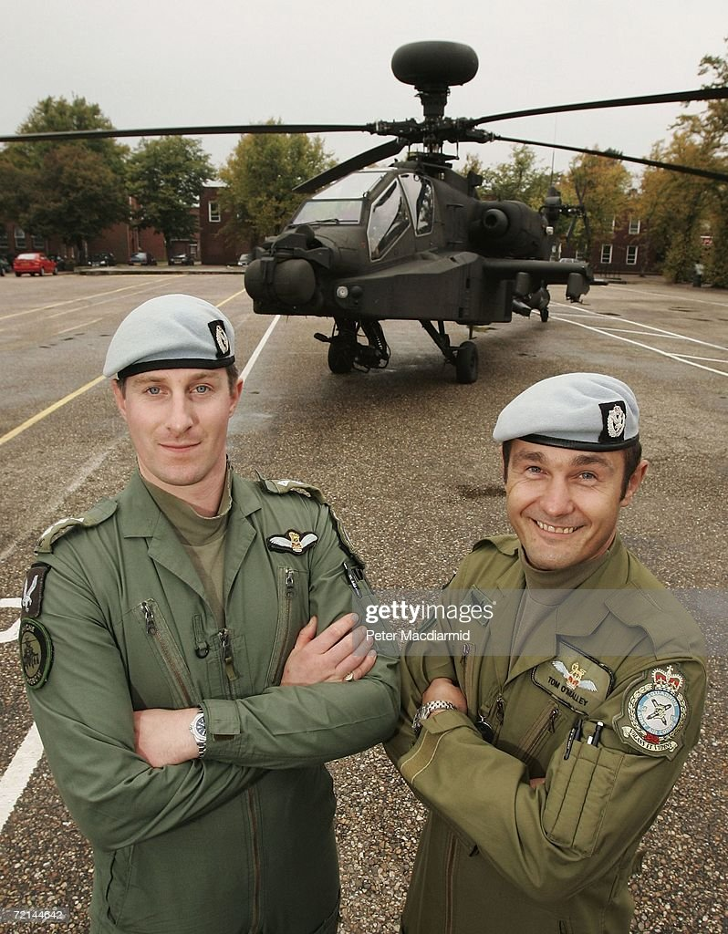 Pilots from 656 Squadron 9 Regiment Army Air Corps Captain Richard ...